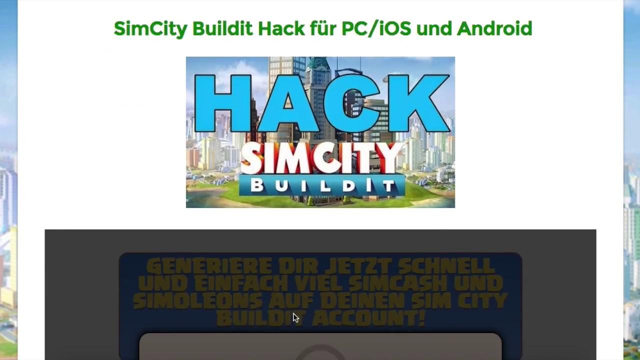 Offizieller SimCity Buildit Hack ® Endlich Deutsch