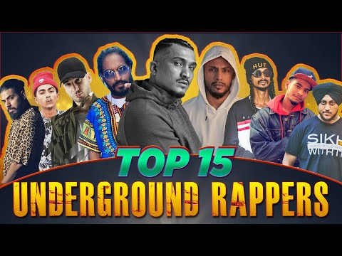 Underground Rappers Of INDIA   Unknown Rappers You Must Know About   Top 15 Indian Rappers
