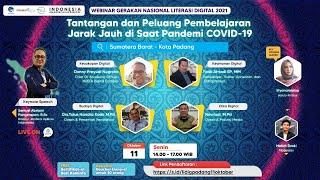 Tantangan dan Peluang Pembelajaran Jarak Jauh di Saat Pandemi COVID-19 (Kota Padang, 11\/10\/2021)