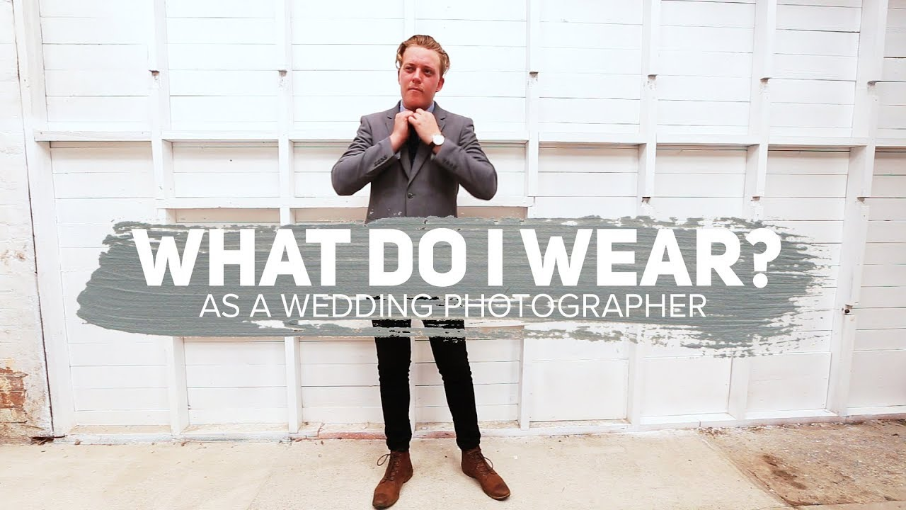 0d8bd0aa000 What to Wear  Wedding Photographers - YouTube