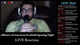 AAF Opening Night | Atlanta Legends vs Orlando Apollos | Live Reactions
