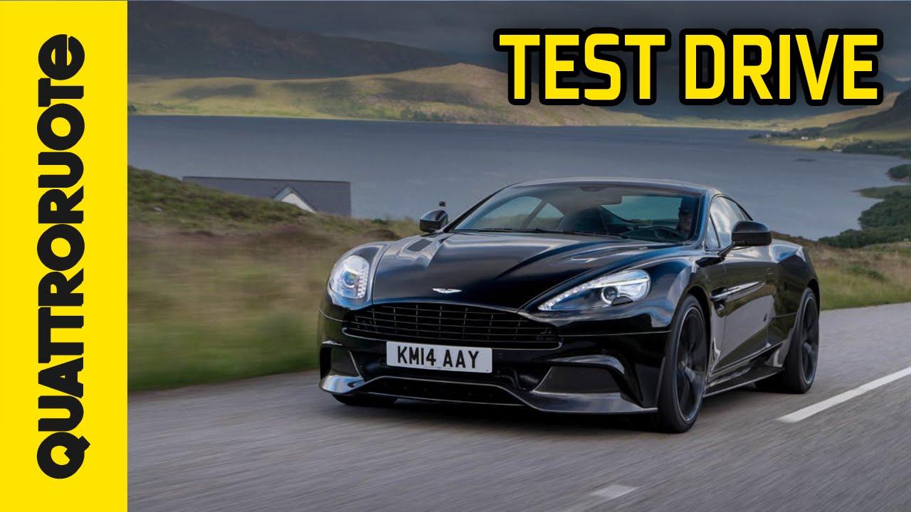 Aston Martin Vanquish 2014 Test Drive Youtube