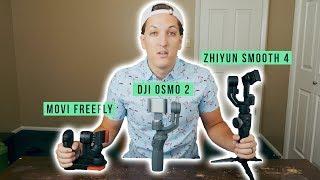 BEST SMARTPHONE GIMBAL | Osmo 2 vs Movi Freefly vs Smooth 4