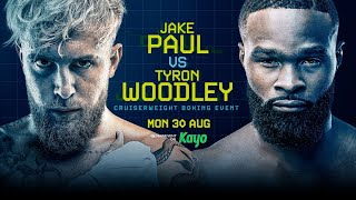 Jake Paul vs. Tyron Woodley Live Round-By-Round Updates | Paul vs Woodley Live On FYF Sports
