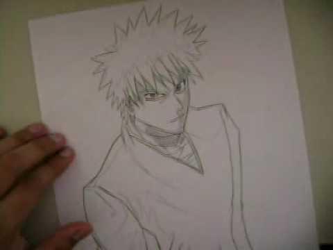 How To Draw AnimeComo Dibujar Anime Bleach Ichigo Kurosaki