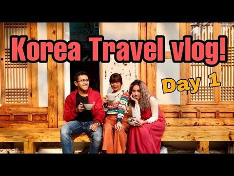 KOREA VLOG  #1 : NAIK KOREAN AIR, GYEONGBOKGUNG PALACE, BUKCHON HANOK VILLAGE, NAMSAN SEOUL TOWER!