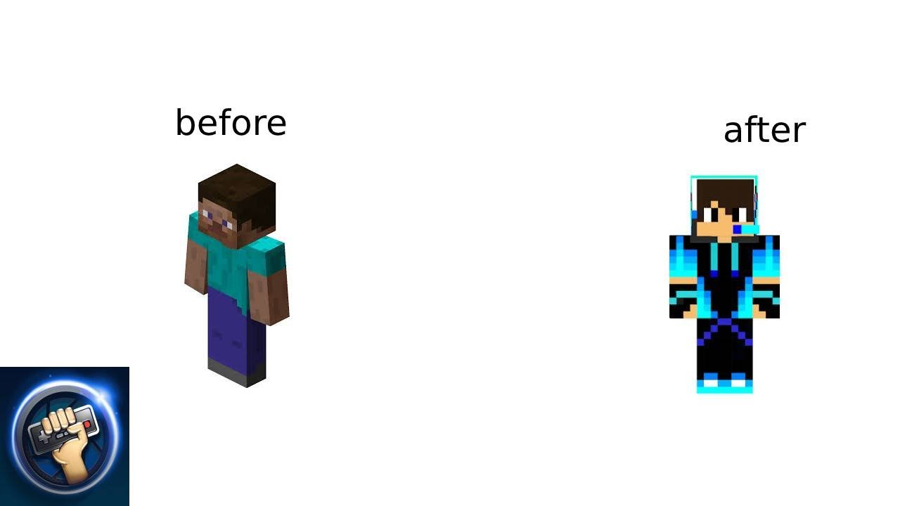How to get a new minecraft skin - YouTube