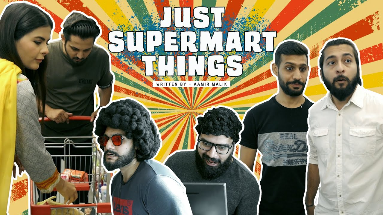 JUST SUPER MART THINGS | Comedy Skit | Karachi Vynz Official