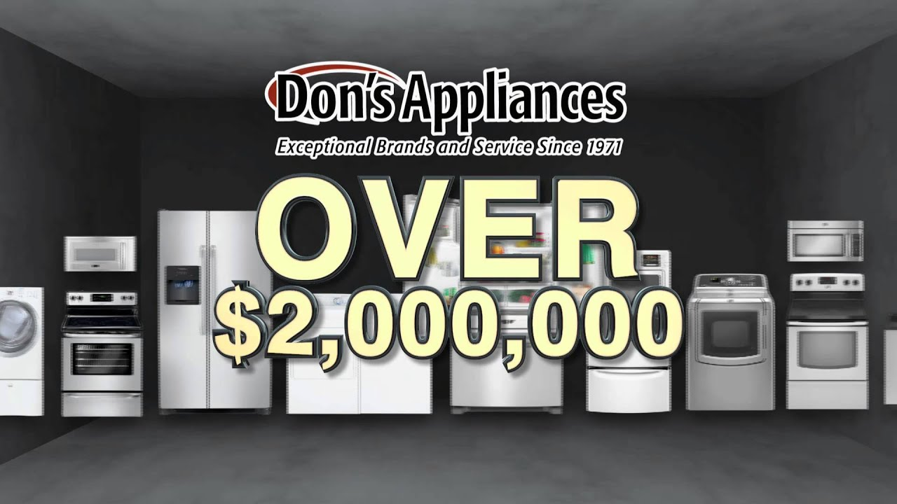 Dons Appliance Fall Warehouse Sale  Youtube. Best Artificial Turf. Unique Kitchens. Outdoor Kitchens Tampa. Marble Counter Table. Red And Brown Area Rugs. Custom Home Builders Columbus Ohio. 4x4 Rug. Mid Century Modern Floor Lamp