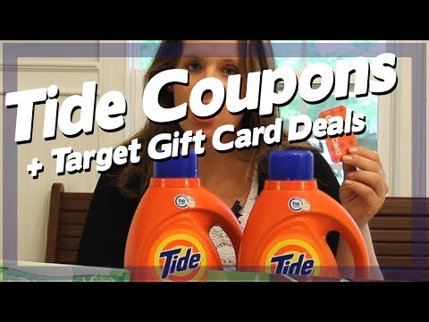 Tide Coupons + Target Gift Card Deals
