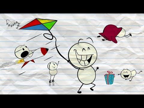 Kite's plight ~  Pencil Cartoons #11
