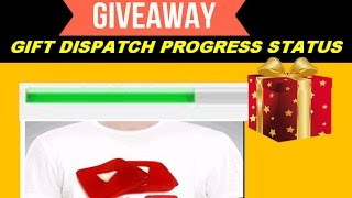 vuclip Giveaway Gifts Dispatch & Order Progress Status....