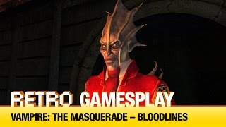 Čtenářský Retro GamesPlay: Vampire: The Masquerade – Bloodlines