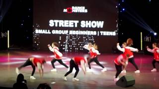 Dance Monsters Fest 2017 Teens 3 place Alfa Pride small group