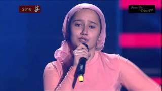 Indila-'Derniere danse'.Ryana.The Voice Kids Russia 2016.