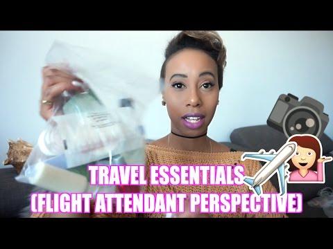 TRAVEL ESSENTIALS(FLIGHT ATTENDANT PERSPECTIVE)