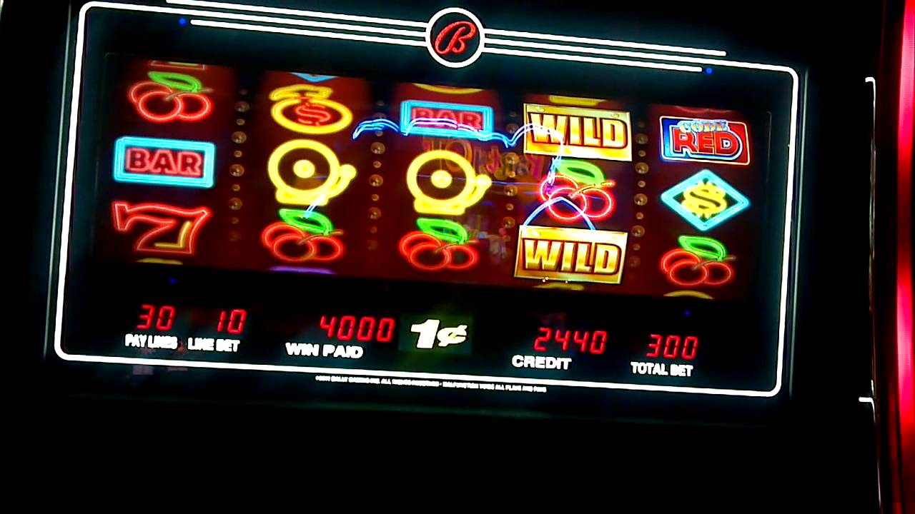 Code Red Slot Machine