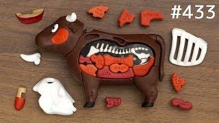 牛肉の部位がわかる「焼肉パズル」 / Yakiniku Puzzle. Japanese Toy
