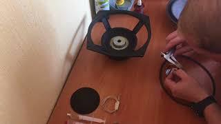ремонт динамика 75гдн-3 (замена катушки) подробно