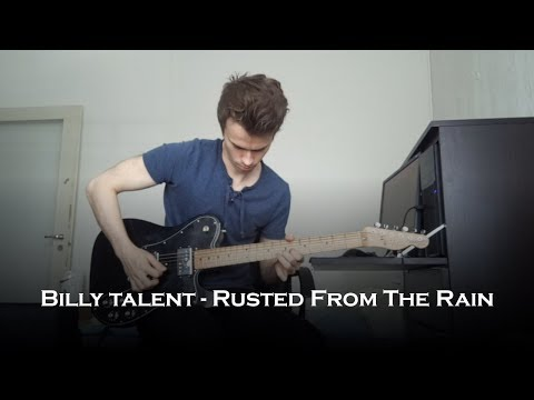 Billy Talent - Rusted From The Rain Solo (Guitar Cover)