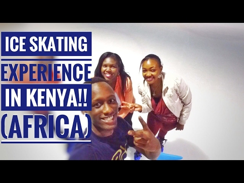 ICE SKATING IN KENYA!! AFRICA