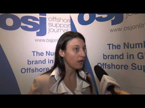 Regina Bindao, Nautical Institute at European Dynamic Positioning 2014