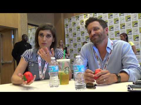 Comic-Con 2013: Interview with Lizzy Caplan and Rob Benedict for The Sidekick