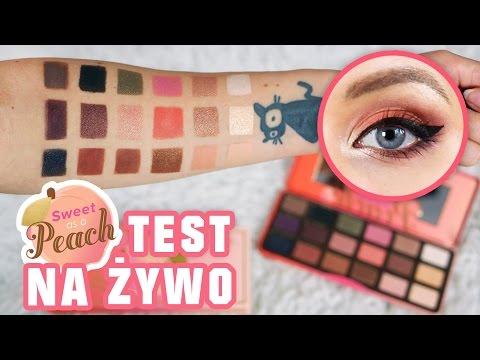 🍑 Test na żywo, openbox i swatche Too Faced SWEET PEACH 🍑 ♦ Agnieszka Grzelak Beauty