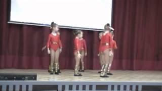 видео: ритмическая гимнастика  02.03.13. СОШ № 1232