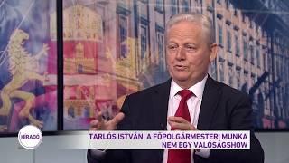Tarlós István: A főpolgármesteri munka nem egy valóságshow