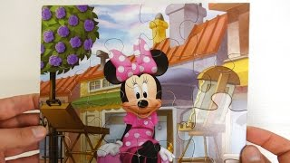 Jake Neverland Pirates Peppa Pig Minnie Mouse Puzzles for kids