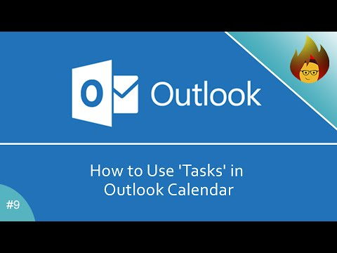 How To Use Tasks In Outlook Calendar