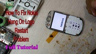 Nokia Hang On Logo Restart Problem Fix In Hardware 100% Tested Solution