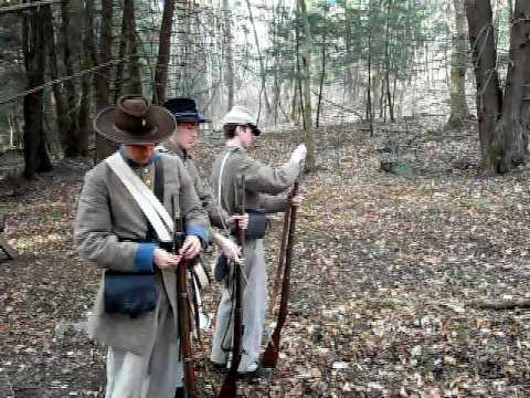 shooting civil war enfield rifle musket