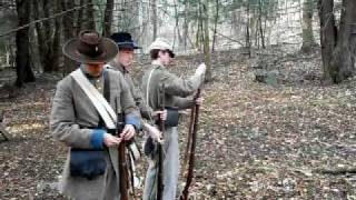 shooting civil war enfield rifle musket