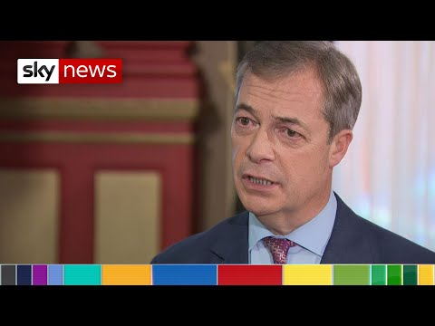 General Election: Farage says Brexit Party won't contest Conservative seats
