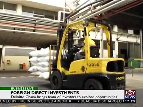 Foreign Direct Investment - Business Live on JoyNews (9-10-17)