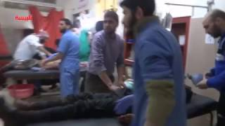 شهداء وجرحى في قصف بالطيران الحربي على مدينة تلبيسة
