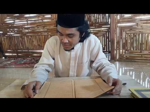 Praktek baca Kitab Kuning  pondok Darun Nuhat