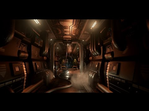 Making of Sci fi corridor 3ds max Unreal engine tutorial part - 3