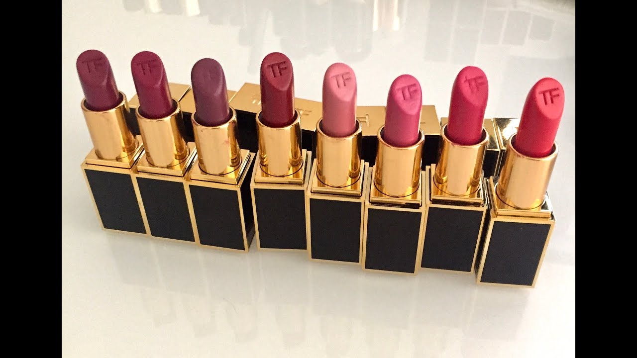 New Tom Ford Lipsticks For Fall 2017 13 Shades With Swatches