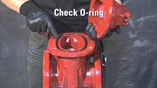 Clow Valve RW Gate Valve NRS - How to Change Direction of Open