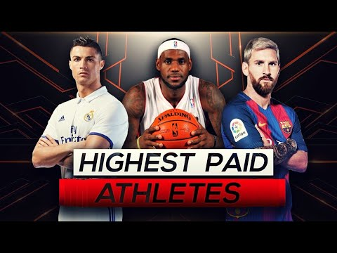 Top 10 HIGHEST PAID ATHLETES (2019)