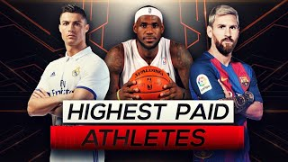 Top 10 HIGHEST PAID ATHLETES (2018)