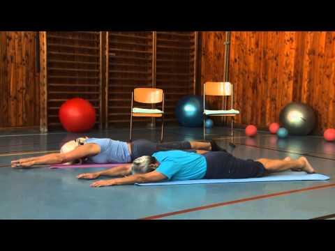 Břišní svaly - Cvičením proti bolesti - 1. díl