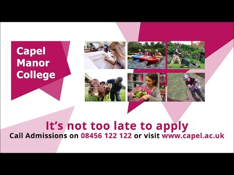 Grow your potential at Capel Manor College