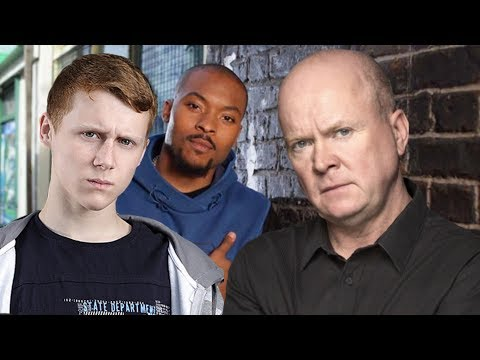 EastEnders - Phil Mitchell & Jay Brown Vs. Connor Stanley (Complete Feuds 2010)