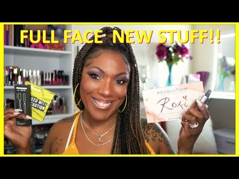 FULL FACE USING NEW PRODUCTS!!! SHAYLA X COLOURPOP & Catrice Foundation thumbnail