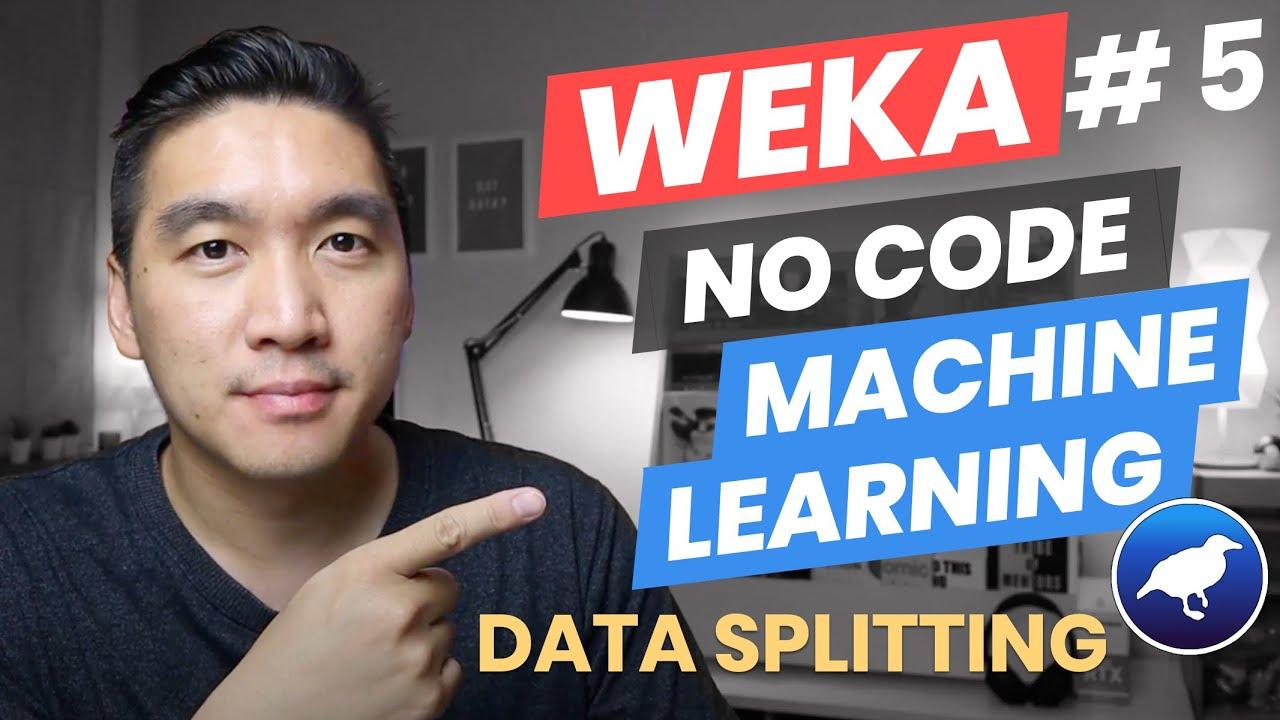 How to Perform Data Splitting (Weka Tutorial )