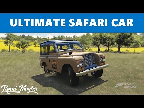 1972 Land Rover Series lll Top Speed Build!!! Forza Horizon 3